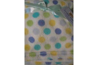 (Blue) - Luvable Friends Unisex Baby Coral Fleece Blanket, Blue, One Size