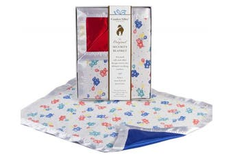 (Red) - The Celebration Collection Security Blanket by Comfort Silkie ~ Primary
