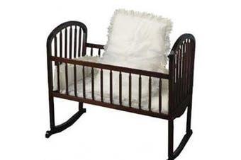 (15x33, White) - Eyelet Cradle Bedding