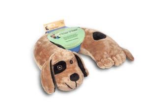 (Brown Dog) - Critter Piller Kids Travel Pillow