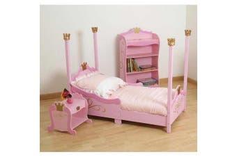 (Pink) - Baby Doll Bedding Regal Pique Toddler Bedding Set