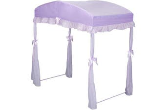 (purple) - Delta Toddler Bed Canopy, Choose Your Colour