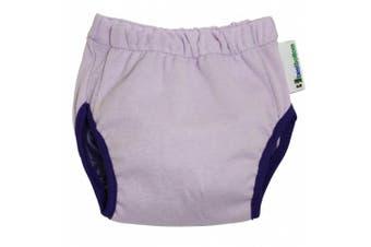 (Large, Grape) - Best Bottom Training Pants, Grape, Large