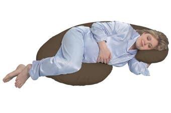 Brown Leachco Snoogle Total Body Pillow Brown Kogan Com