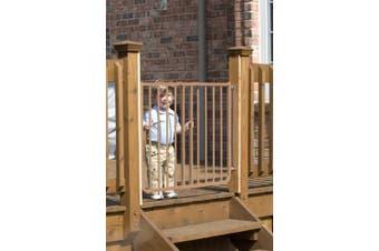 (brown) - Cardinal Gates Outdoor Child Safety Gate, Brown