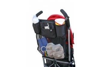 (Black) - JL Childress Cups 'N Cargo Stroller Organiser