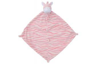 (33cm  x 33cm , Bright Pink Zebra) - Angel Dear Blankie, Bright Pink Zebra