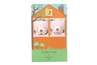(Pink Bear) - Angel Dear Blankie Cuddle Twin Set - Pink Bear