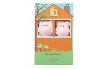 (Pink Hippo) - Angel Dear Cuddle Twin Set
