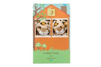 (Leopard Print) - Angel Dear Blankie Cuddle Twin Set - Leopard