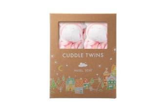(Bright Pink Zebra) - Angel Dear Cuddle Twin Set