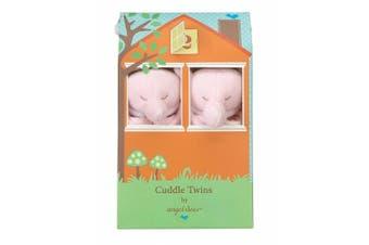 (Pink Elephant) - Angel Dear Blankie Cuddle Twin Set - Pink Elephant