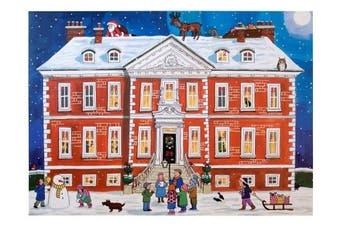 Alison Gardiner Famous Illustrator Unique Traditional Advent Calendar - Designed in England - Country House Festive Season