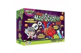 (Mad Scientist) - Junior Science The Mad Scientist Kit (Packaging May Vary)