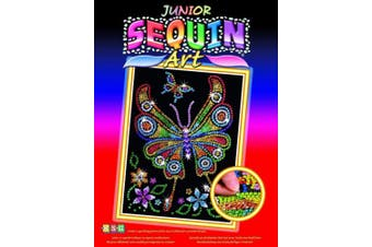 (Butterfly) - Sequin Art Red, Butterfly, Sparkling Arts and Crafts Picture Kit; Creative Crafts for Adults and Kids