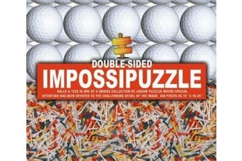 Impossipuzzle golf ball tees
