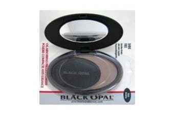 (Medium Brown) - Black Opal Pressed Powder Shinefree Medium Brown