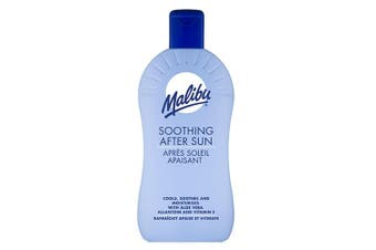 (400ml) - Malibu Soothing After Sun Lotion with Aloe Vera 400 ml