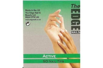The Edge Active Nail Tips Size 2 (50) - 2017402
