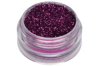 Star Nails Metallic Fuschia Glitter Dust