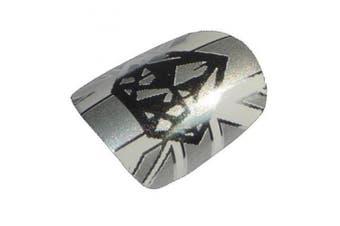 Chix Nails Nail Wraps Diamond Jubilee Fingers Toes Vinyl Foils Minx Quality Queens