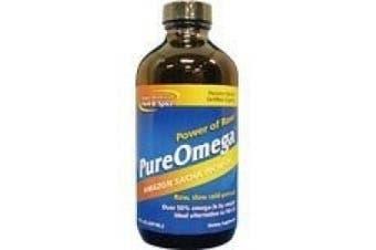 (240ml) - North American Herb & Spice Co., PureOmega, Amazon Sacha Inchi Oil, 8 fl oz (237 ml)