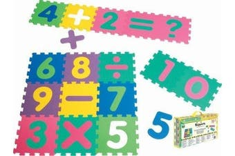 Playshoes Soft Number Jigsaw Puzzle Play Mat