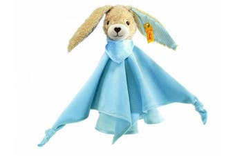 Steiff Hoppel Rabbit Comforter (Blue, 28cm)