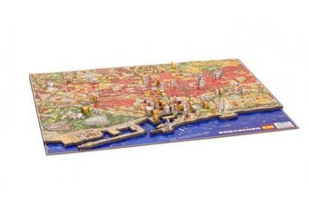 4D Cityscape Barcelona History Time Puzzle