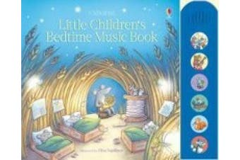 Little Children's Bedtime Music Book (Musical Books)