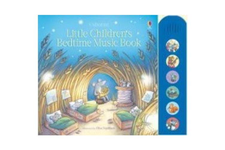Little Children's Bedtime Music Book (Musical Books)