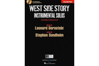West Side Story Instrumental Solos: Arranged for Viola and Piano with a CD of Piano Accompaniments