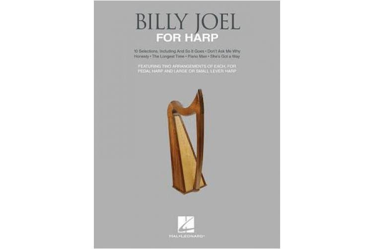 Billy Joel for Harp: For Pedal Harp and Large or Small Lever Harp