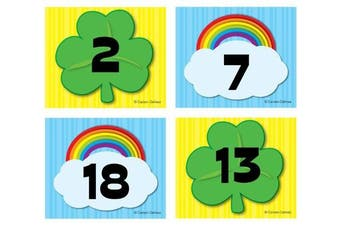 Shamrock/Rainbow Calendar Cover-Up