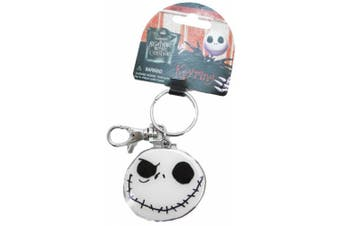 Disney Nightmare Before Christmas Keychain - Good Day/ Bad Day Jack face pewt...