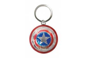 The Avengers Captain America Shield Key Ring