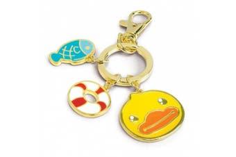 B'Duck Charm Keyring