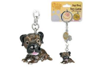 Little Paws Key Ring Border Terrier