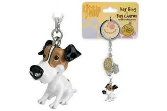 Little Paws Key Ring Jack Russell Terrier