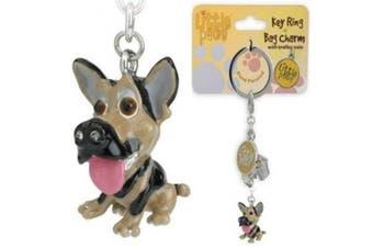 Little Paws German Shepherd Key Ring / Bag Charm