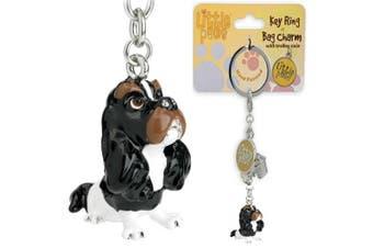Little Paws Key Ring Cavalier King Charles Spaniel