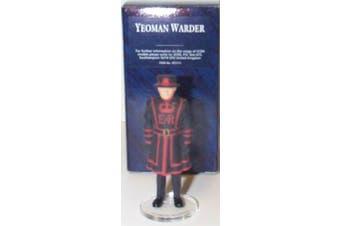 corgi icon yeoman warder figure 1.32 scale diecast model