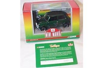corgi mini mania paul mc cartney morris mini cooper S dark green car 1.36 scale limited edition diecast model