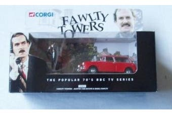 Corgi Fawlty Towers - Austin 1300 estate and Basil Faulty- 1:43 scale