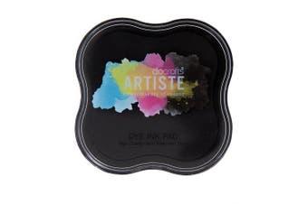 (Black) - docrafts Artiste Dye Ink Pad, Black