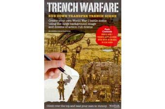 Trench Warfare - Rub Down Transfers World War 1 Battle Scene