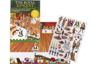 The Royal Banquet - Rub Down Transfers Banquet Scene