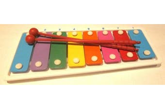 Children's Colourful Mini Metal Xylophone