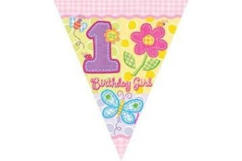 Amscan International Hugs and Stitches Girl Pennant Banner