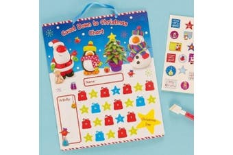 Countdown to Christmas Chart (Each)